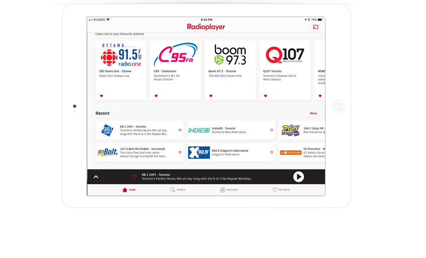 Welcome – Radioplayer Canada